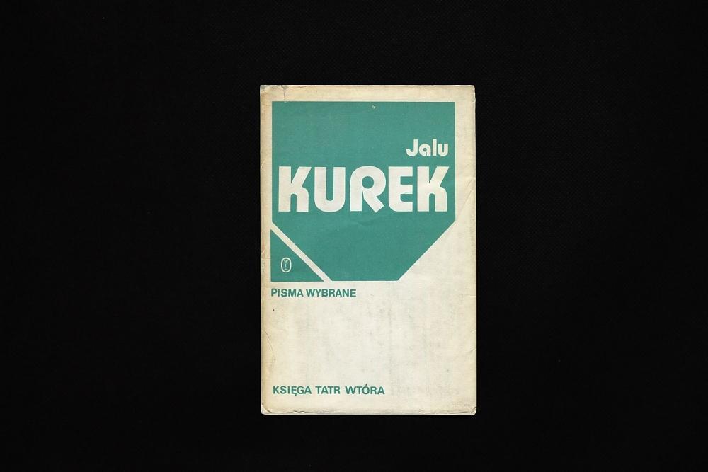 Księga Tatr wtóra - Jalu Kurek - książki górskie - książki gór